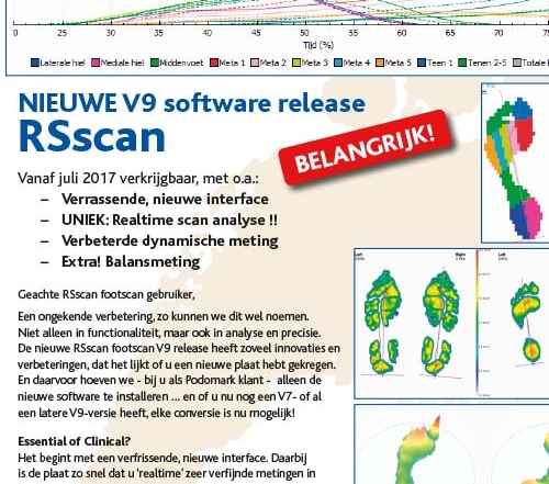 Upgraden naar RSscan footscan V9 software