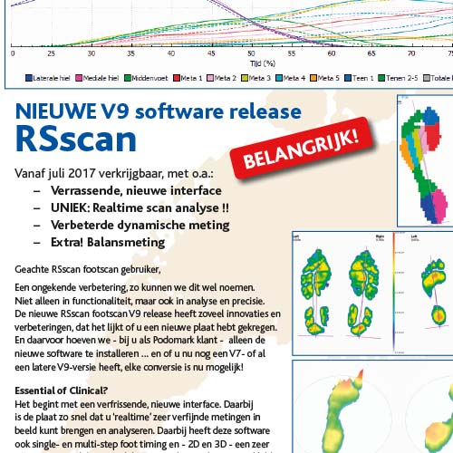 Upgraden naar RSscan footscan V9 software